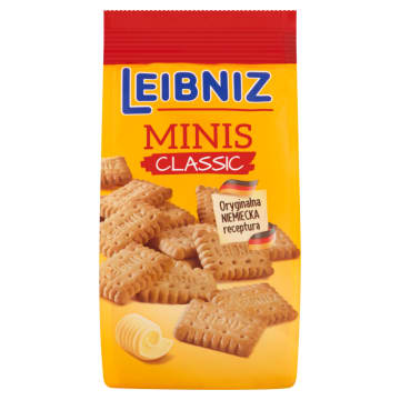 BAHLSEN Leibniz Minis Classic Herbatniki maślane 120g