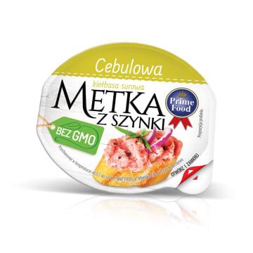 PRIME FOOD Metka wieprzowa z szynki - cebulowa 80g