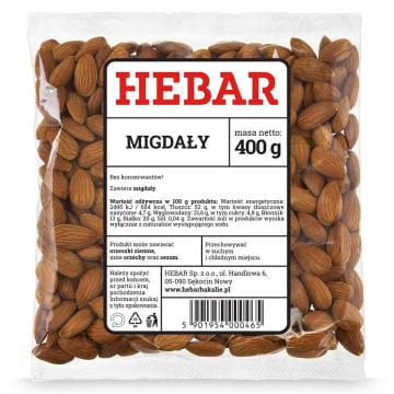 Migdały - Hebar