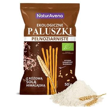 NATURAVENA Paluszki pełnoziarniste z solą himalajską BIO 50g
