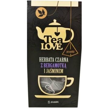 TEA LOVE Herbata czarna z bergamotką i jaśminem - piramidki 15 szt. 37g