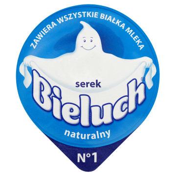 Serek naturalny w postaci twarożku - Bieluch