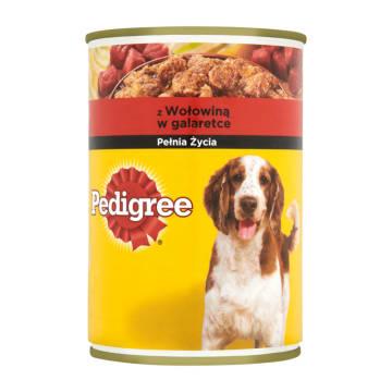 PEDIGREE Karma dla psów 400g. Dla zdrowia i siły każdego psa.