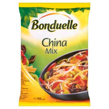 Mieszanka chińska mrożona - Bonduelle. Kompozycja warzyw typowych dla kuchni azjatyckiej.