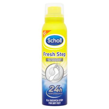 Dezodorant do stóp - Scholl Fresh Step. Doskonałe odświeżenie i ochrona stóp.