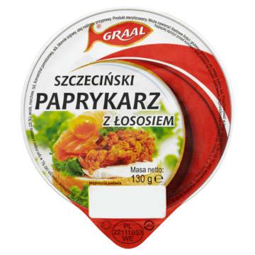 Paprykarz szczeciński z łososiem - Graal. Wyrazisty smak każdej kanapki.