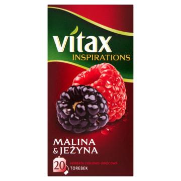 Vitax – Inspirations Herbata malinowo-jeżynowa -