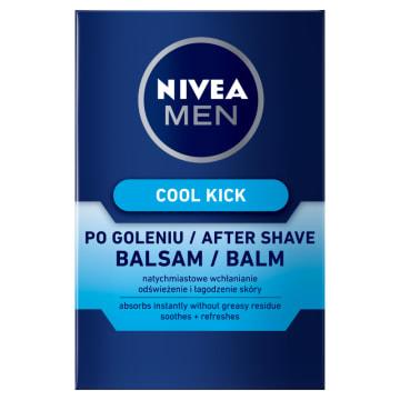 Nivea Men - Balsam po goleniu. Pełna ochrona męskiej skóry.