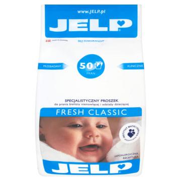 Proszek do prania Fresh Classic - Jelp. Ekologiczny i hipoalergiczny proszek specjalistyczny.