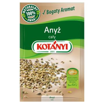 Aromatyczny anyż w całości, 24 g – Kotanyi. Przypraw powinna znaleźć się w każdej kuchni.