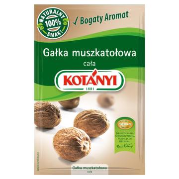Gałka muszkatołowa –Kotanyi to charakterystyczna przyprawa idealna do różnych dań.