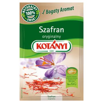 Szafran oryginalny - Kotanyi. Przyprawa, która wzbogaci smak każdej potrawy.