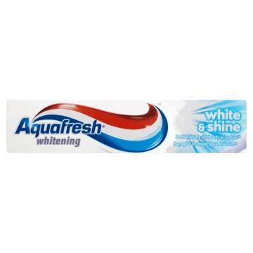 Pasta do zębów White&Shine - Aquafresh. Do codziennej pielęgnacji jamy ustnej.