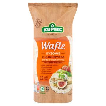 Kupiec - Wafle ryżowe z kukurydzą. Pełnowartościowa alternatywa dla pieczywa.