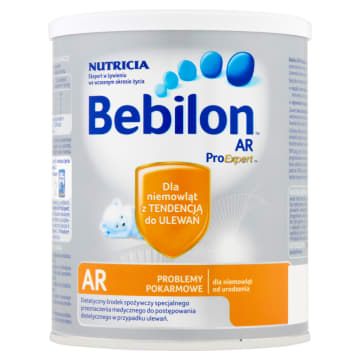 Mleko początkowe - Bebilon Ar. W skuteczny sposób zastępuje mleko matki.