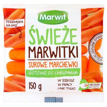 Marchewki Marwitki - Marwit to zdrowa przekąska, którą można zabrać wszędzie.