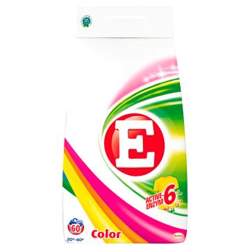 Proszek do prania tkanin kolorowych 4500g - E poradzi sobie z zabrudzeniami i chroni kolor.