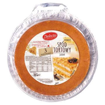 Spód tortowy - Delecta. Doskonały smak i konsystencja.
