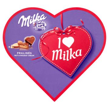 Czekoladki I love Milka – Milka to słodkie czekoladowe serduszka dla tych, których kochasz.