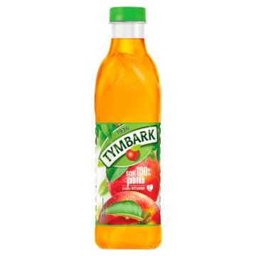 Sok 100% Jabłkowy, PET - Tymbark. Sok najwyższej jakości.