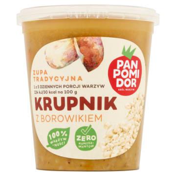 PAN POMIDOR&CO Pan Krupnik z borowikiem  Zupa tradycyjna 400g