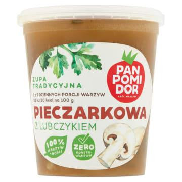 PAN POMIDOR&CO Pani Pieczarkowa z lubczykiem Zupa tradycyjna 400g