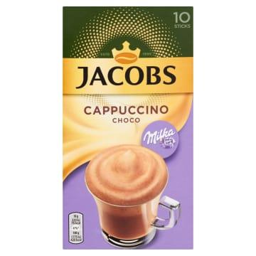 JACOBS Specials Milka Rozpuszczalny napój kawowy o smaku czekolady 10x18g 180g