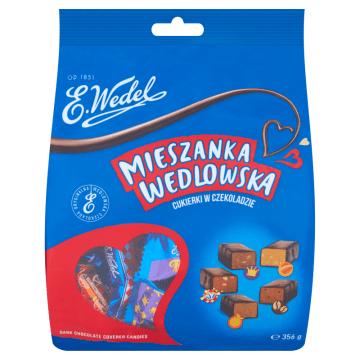 Mieszanka Wedlowska - cukierki w czekoladzie deserowej