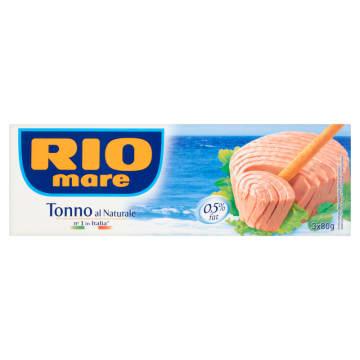 RIO MARE Tuńczyk w sosie własnym 3x80g 240g