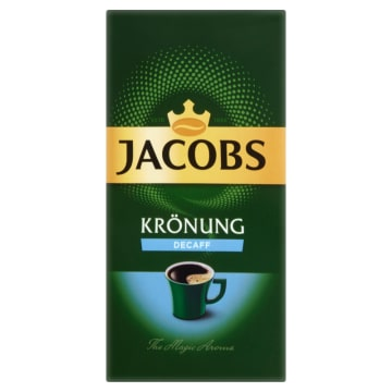 JACOBS Krönung Decaff Kawa bezkofeinowa mielona 250g