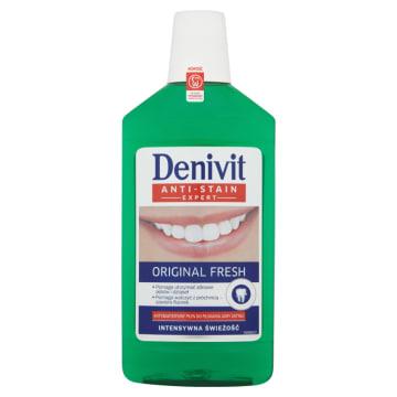 DENIVIT Original Fresh Płyn do płukania jamy ustnej antybakteryjny 500g