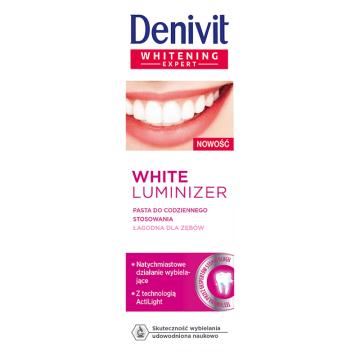 DENIVIT White Luminizer Pasta do zębów wybielająca do codziennego stosowania 50g