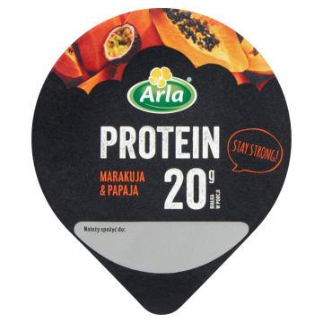 ARLA Protein Serek wysokobiałkowy marakuja & papaja 200g