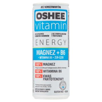 Napój gazowany Vitamin Energy z magnezem i witaminą B 250 ml - Oshee