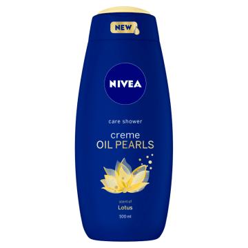 NIVEA creme OIL PEARLS Żel pod prysznic pielęgnujący Lotos 500ml