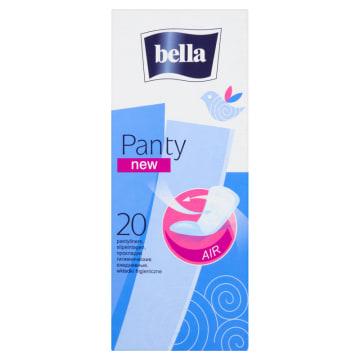 Wkładki higieniczne Bella Panty gwarantują długotrwałe uczucie świeżości.