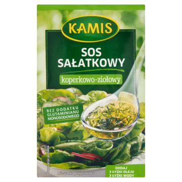 KAMIS Sos sałatkowy koperkowo-ziołowy 8g