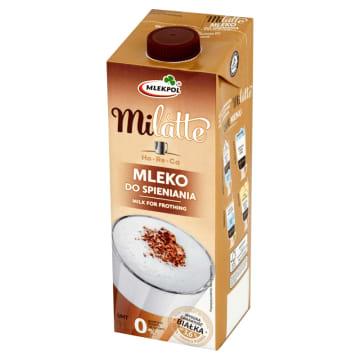 MLEKPOL Milatte Mleko do spieniania UHT 0,0% 1l