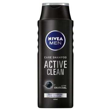 Szampon do włosów Active Clean - Nivea Men. Codzienne oczyszczenie i odświeżenie.