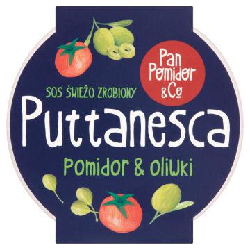 PAN POMIDOR&CO Puttanesca pomidor & oliwki Sos Premium 300g