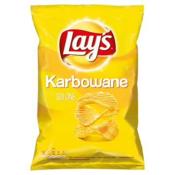 LAYS Chipsy ziemniaczane karbowane Solone 140g