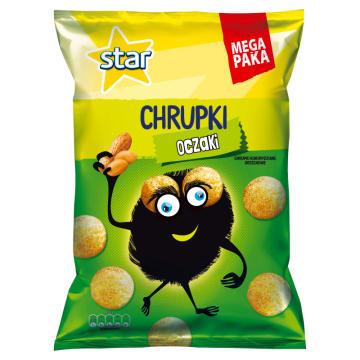 STAR Chrupki kukurydziane orzechowe Oczaki 125g