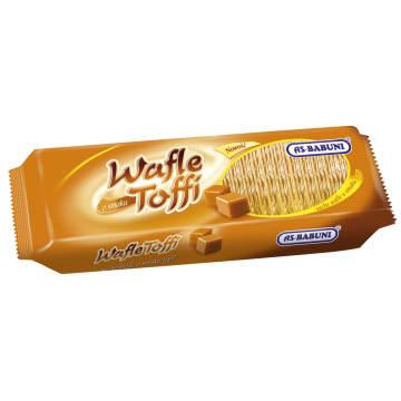 AS-BABUNI Wafle o smaku toffi 100g