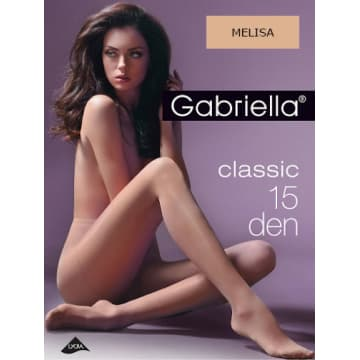 GABRIELLA Rajstopy Classic 15 Den, rozmiar 3, kolor Melissa 1szt
