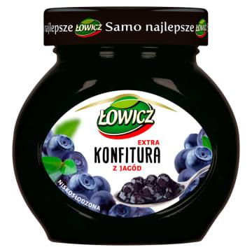 Konfitura jagodowa - Łowicz zapewnia stały dostęp do owoców - także w zimie. Idealna do kanapek.