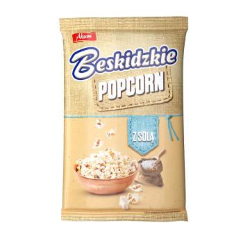 BESKIDZKIE Popcorn z solą 90g