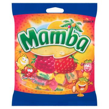 Guma Mamba owocowa - 4 smaki