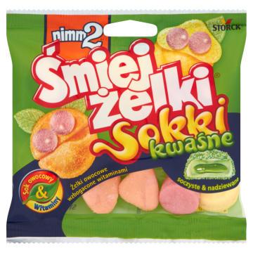Żelki jogurtowe kwaśne - Nimm2. Wyjątkowa słodycz szczególnie dla dzieci.