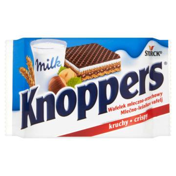 Wafel mleczno - orzechowy - Knoppers