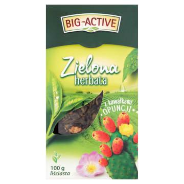 Herbata zielona liściasta z opuncją - Big-Active. Smak natury znany od wieków.